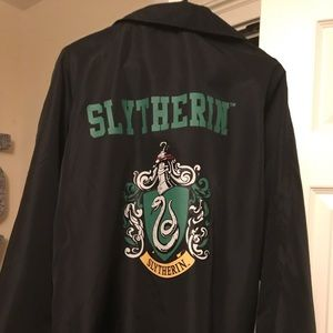 Harry Potter Slytherin Windbreaker Jacket